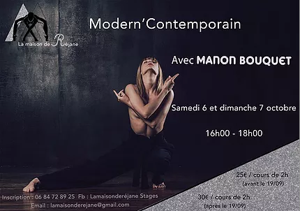 Stage de danse avec Chris Mc Carthy